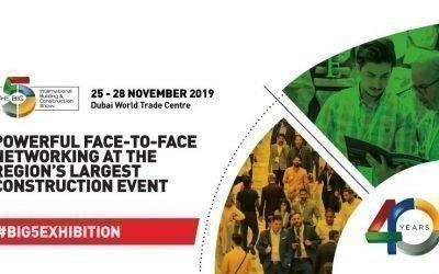 40th DUBAI THE BIG5 2019 Fair